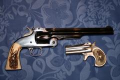 revolver et Derringer